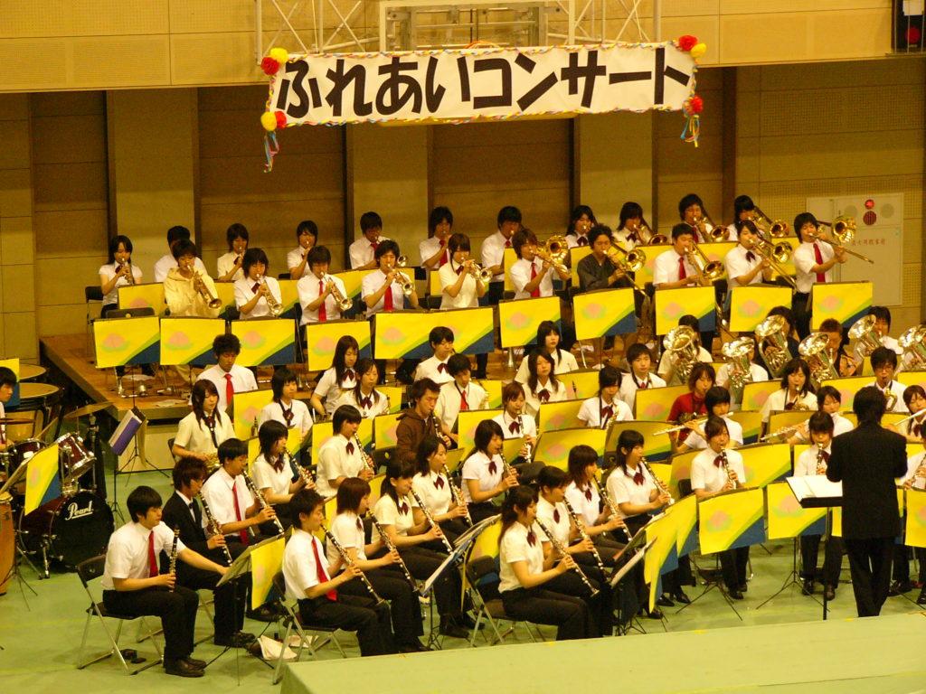 大学時代の吹奏楽サークル