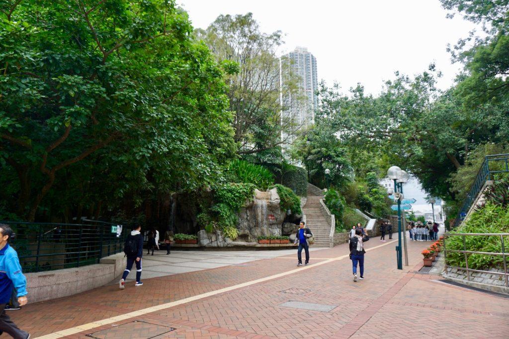 香港の九龍公園