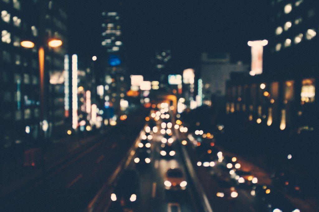 夜の街(イメージ画像)