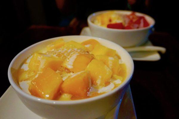 マンゴー豆花